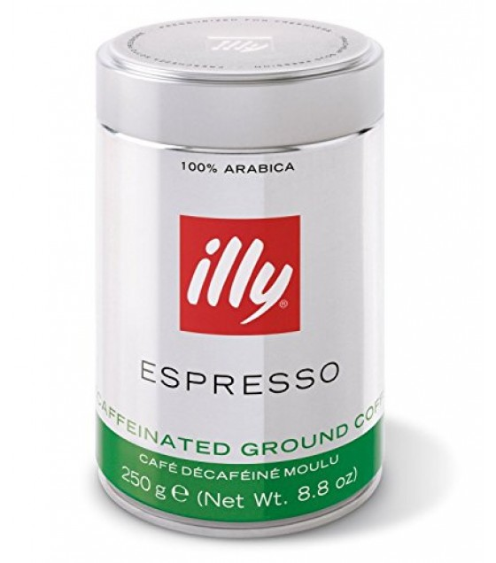 [Illy Caffe] Coffee Decaffeinated, Ground