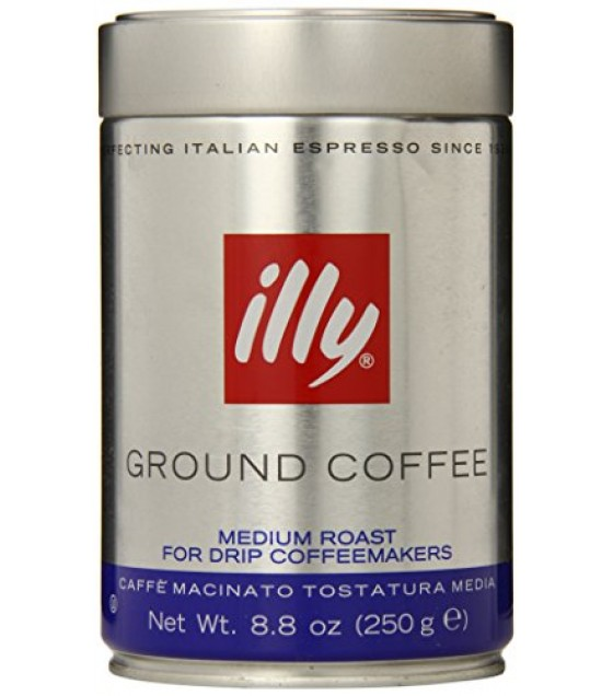[Illy Caffe] Coffee Medium Roast Drip, Ground
