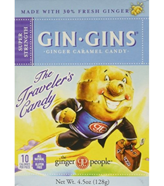 [Ginger People] Gin Gins Super Strength, Caramel