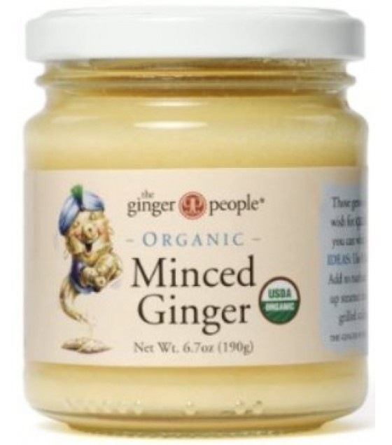 [Ginger People] Condiments Minced Ginger  At least 95% Organic
