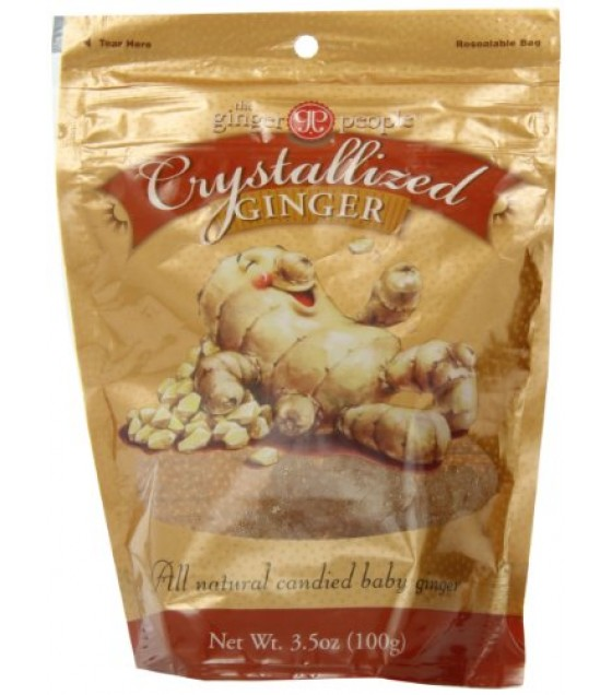 [Ginger People] Crystallized Ginger Candy, Bags