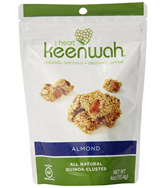 [I Heart Keenwah] All Natural Quinoa Cluster Almond