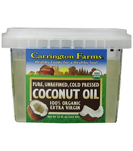 [Carrington Farms]  Coconut Oil, Extra Virgin  100% Organic