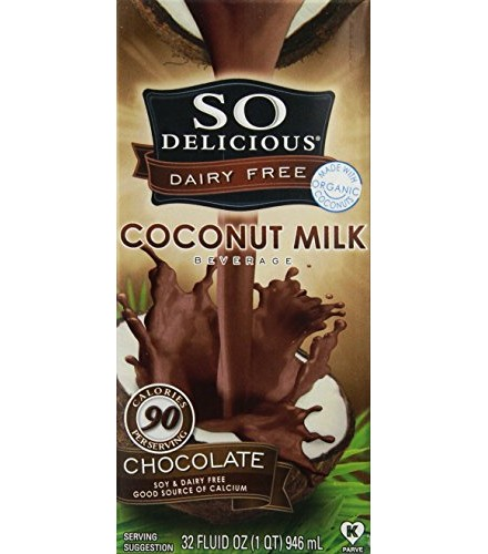 [So Delicious] Coconut Milk Beverage Chocolate  At least 70% Organic