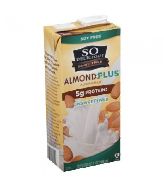 [So Delicious]  Almond Plus Protn, Unsweetened