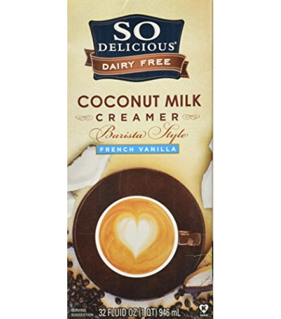[So Delicious] Coconut Milk Creamer Creamer, Barista Style Frnch Van