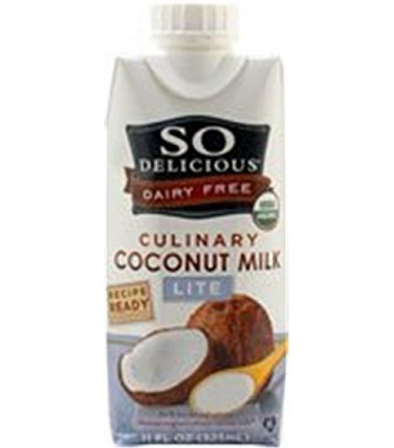 [So Delicious] Coconut Milk Beverage Culinary, Lite  At least 95% Organic