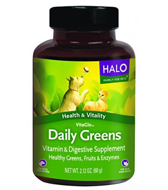 [Halo] Vita Glo Supplements Daily Greens