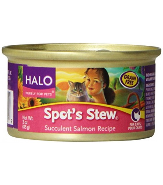 [Halo] Spots Stew - Canned Cat Food Succulent Salmon