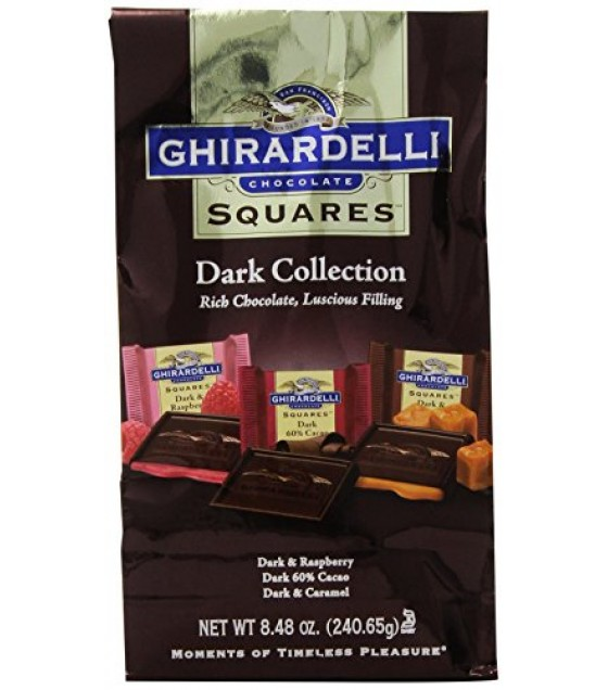 [Ghirardelli] Squares Dark Collection Squares Asst