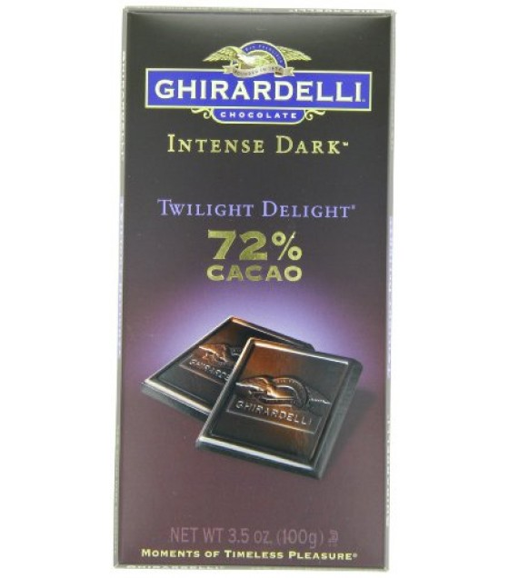 [Ghirardelli] Intense Dark Gourmet Bar Twilight Delight