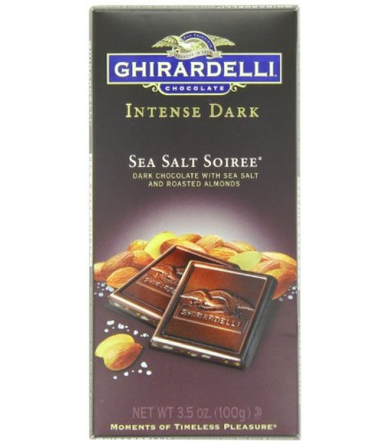 [Ghirardelli] Intense Dark Gourmet Bar Sea Salt Soiree