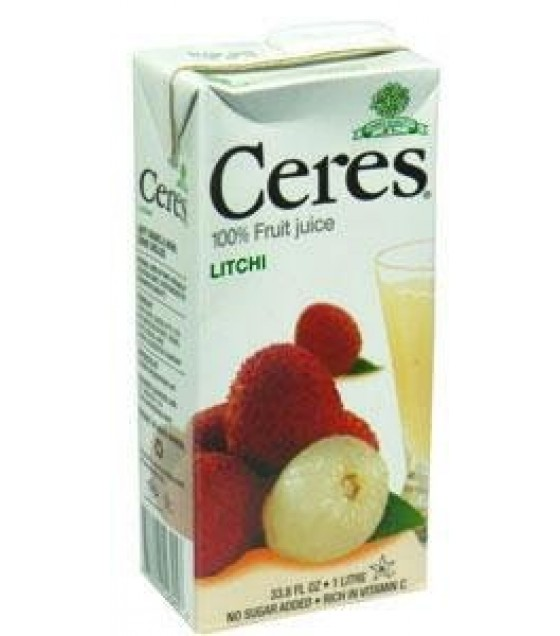 [Ceres] 100% Pure Fruit Juice Litchi