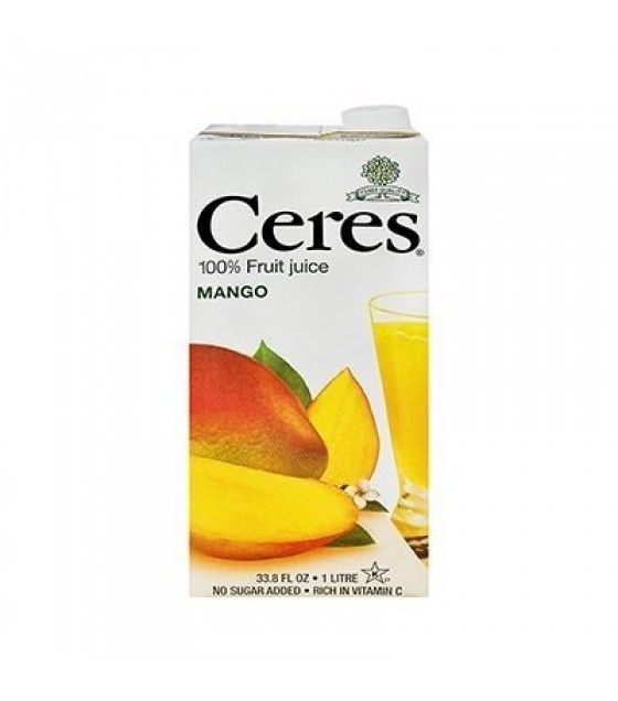 [Ceres] 100% Pure Fruit Juice Mango