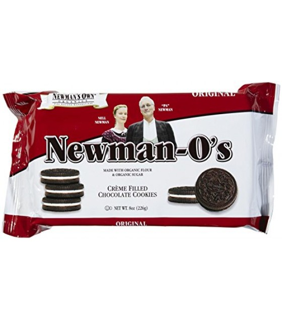 [Newman`S Own Organics] Newman-O`s Creme Filled Sandwich Cookies Original Vanilla Creme  At least 70% Organic
