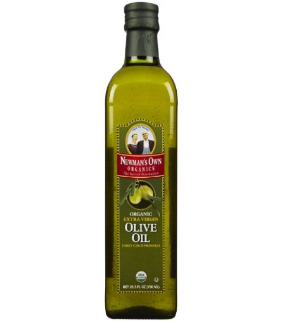 [Newman`S Own Organics] Olive Oil & Balsamic Vinegar Olive Oil, Cold Pressed  At least 95% Organic