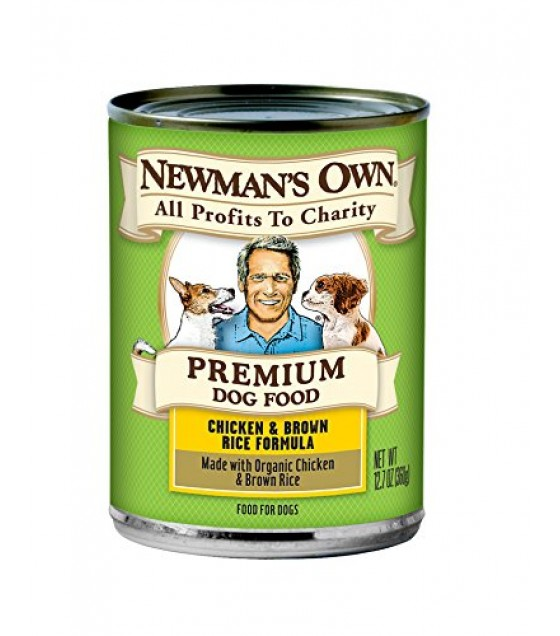 [Newman`S Own Organics] Dog Food Chicken Brown Rice, Canned  At least 70% Organic