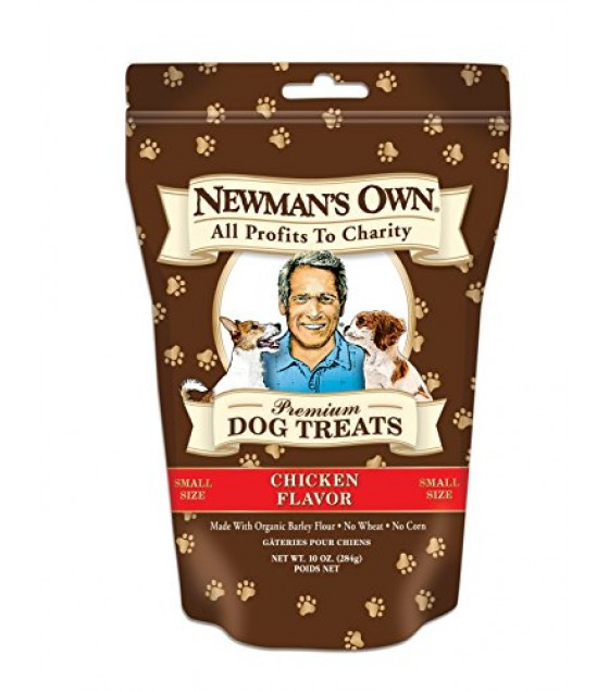 [Newman`S Own Organics] Dog Treats Chicken, Small  At least 70% Organic