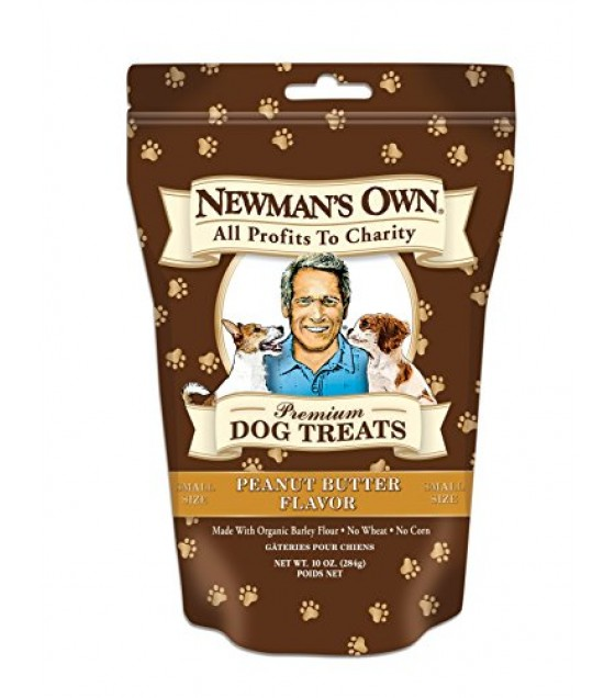[Newman`S Own Organics] Dog Treats Peanut Butter, Small  At least 70% Organic