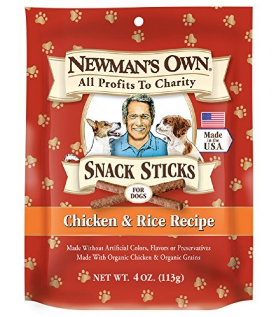 [Newman`S Own Organics] Dog Treats Pet Training Treats Chicken & Rice  At least 70% Organic