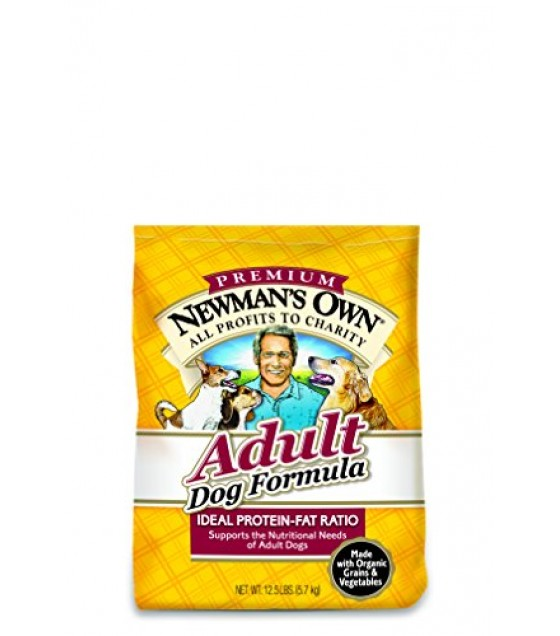 [Newman`S Own Organics] Dog Food Chicken Rice, Adult Dog  At least 70% Organic