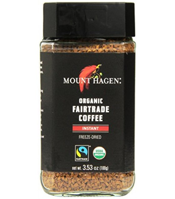 [Mt. Hagen]  Coffee, Freeze Dried  At least 95% Organic