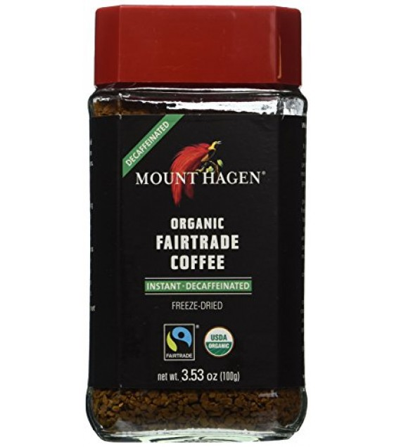 [Mt. Hagen]  Coffee, Freeze Dried, Decaf  At least 95% Organic