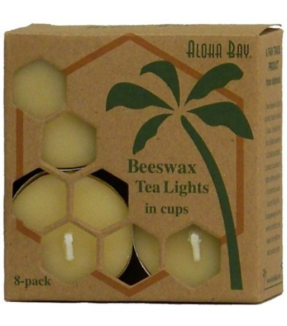 [aloha Bay] Cndl,tea Lights,beeswax
