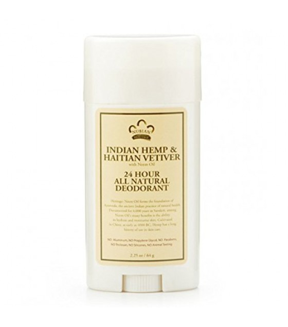 [Nubian Heritage] Deodorants Indian Hemp & Haitian Vetiver