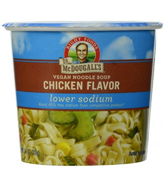[Dr. Mcdougall`S] Light Sodium Soup Cups Chicken Noodle