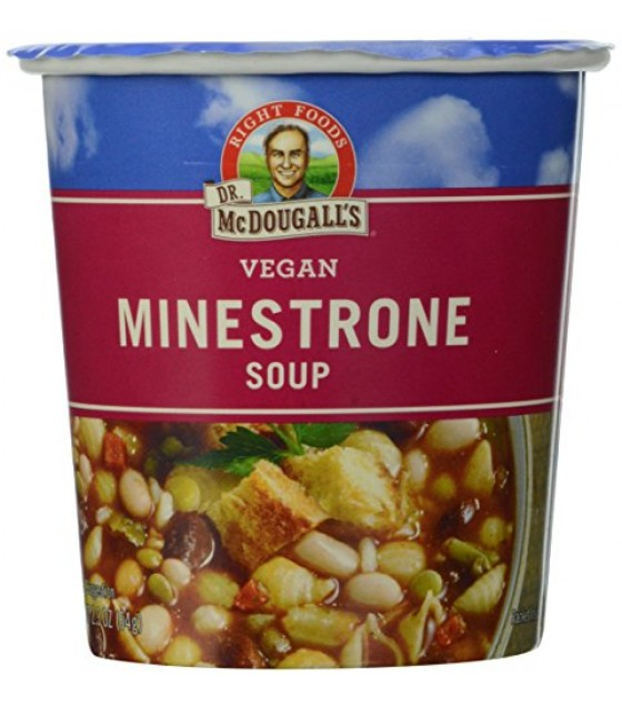 [Dr. Mcdougall`S] Big Cup Soups Minestrone