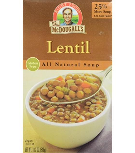 [Dr. Mcdougall`S] Ready To Serve Aseptic Soups Lentil