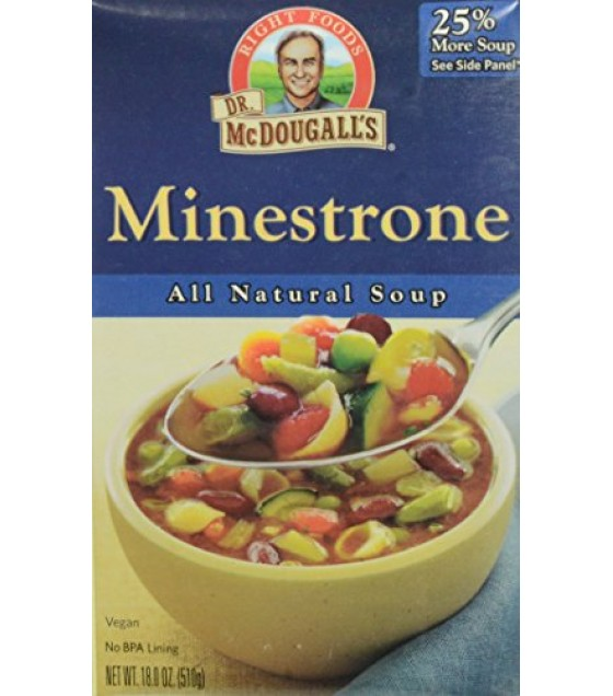 [Dr. Mcdougall`S] Ready To Serve Aseptic Soups Minestrone