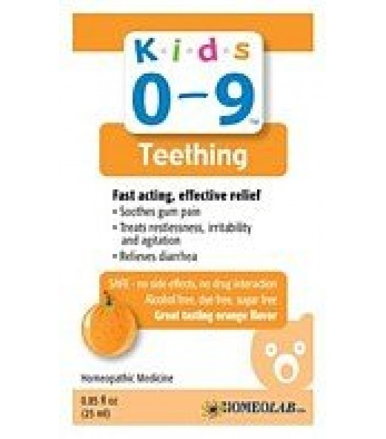 [K.I.D.S] Remedies Teething, Orange