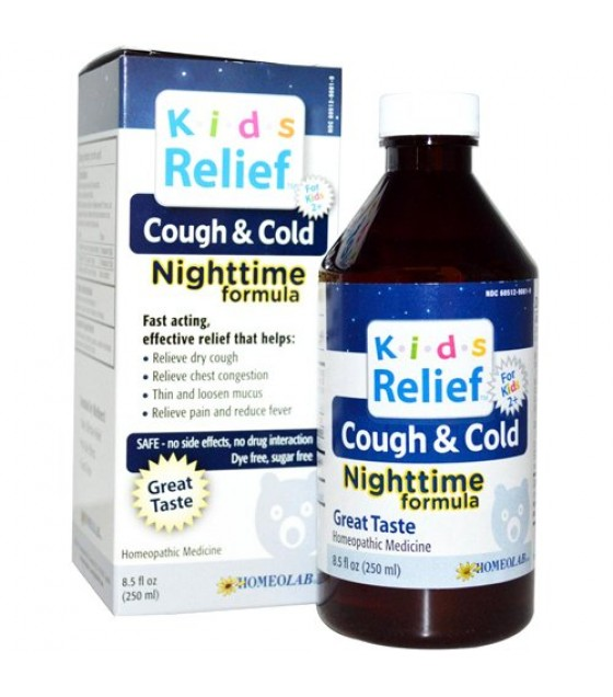 [K.I.D.S] Remedies Kids 2+, Cough & Cold Night Time