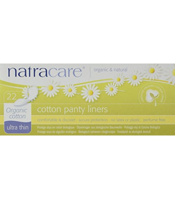 [Natracare] Feminine Hygiene Products Panty Liners, Organic Cotton