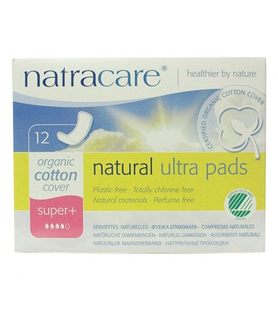 [Natracare] Feminine Hygiene Products Ultra Super Plus Pads