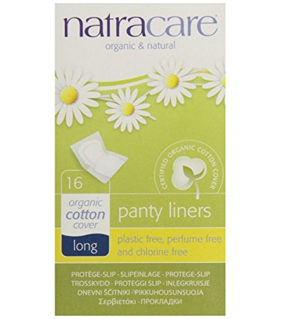[Natracare]  Panty Liners, Long Wrapped
