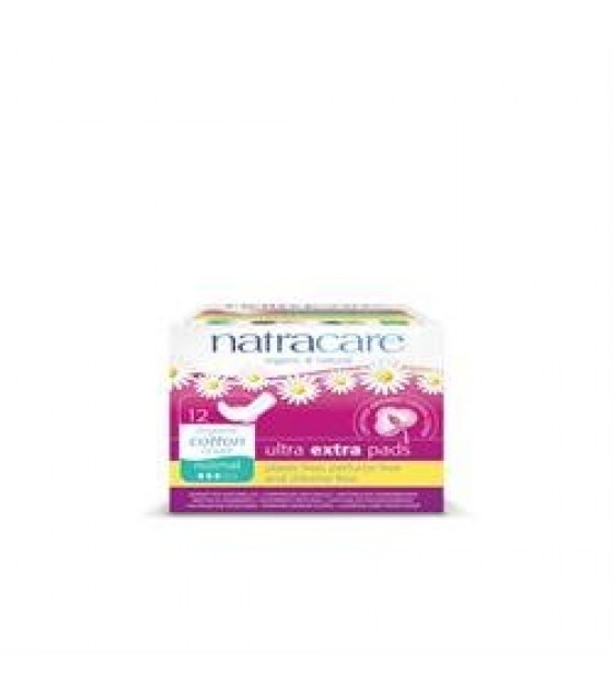 [Natracare] Feminine Hygiene Products Ultra Extra Pads, Super
