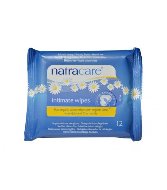 [Natracare] Feminine Hygiene Products Cotton Intimate Wipes