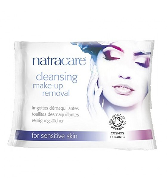 [Natracare]  Cleansing Make up Removal Wipes