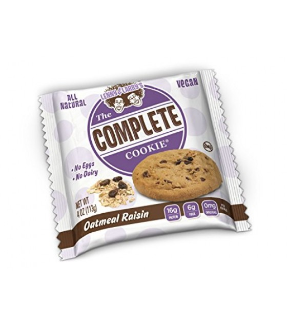 [Lenny & Larry`S] Complete Cookie Oatmeal Raisin