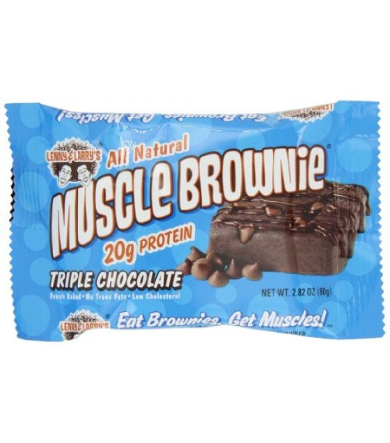 [Lenny & Larry`S] Muscle Brownie Triple Chocolate