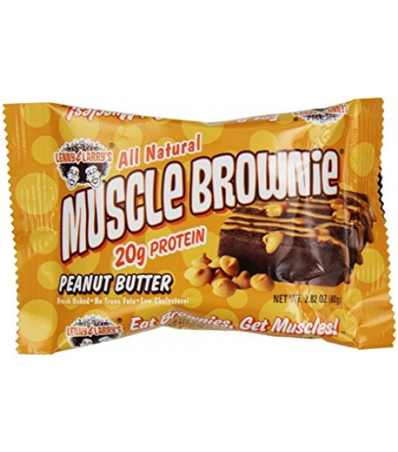 [Lenny & Larry`S] Muscle Brownie Peanut Butter