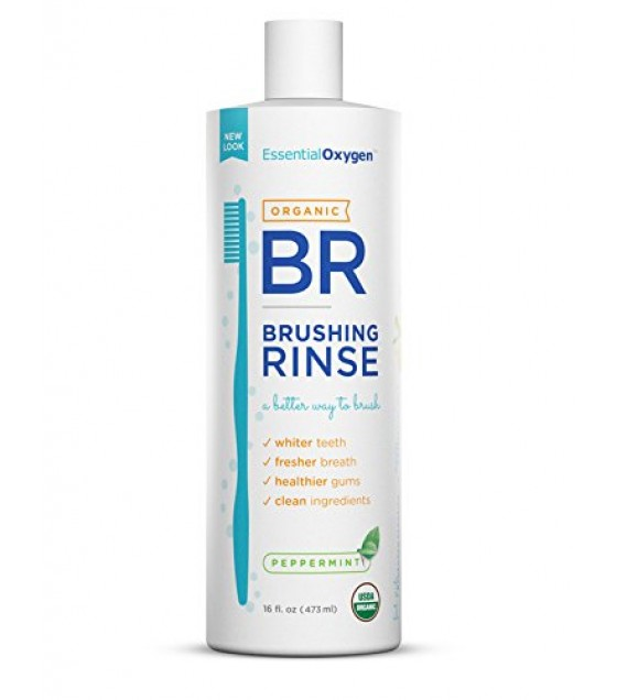 [Essential Oxygen+] Brushing Rinse Peppermint  At least 95% Organic