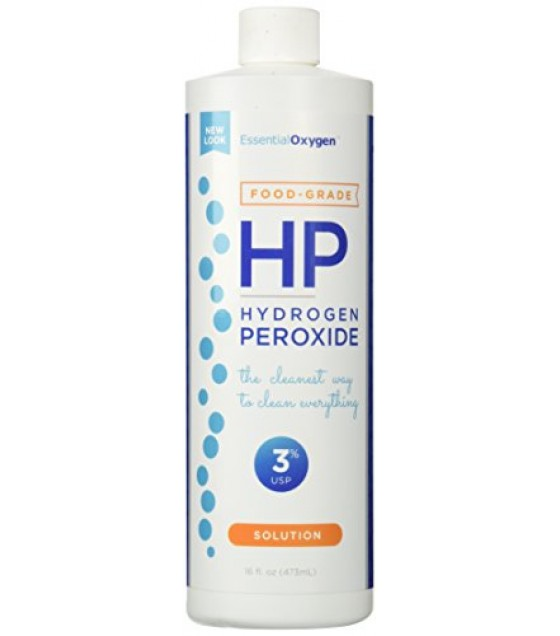 [Essential Oxygen+] Antiseptic Food Grade Hydro Peroxide 3%