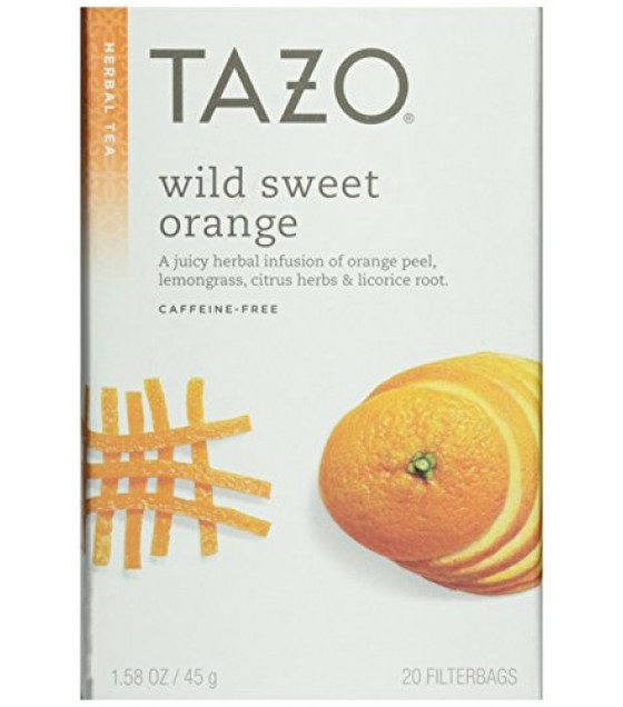 [Tazo] Herbal Infusion Teas Wild Sweet Orange