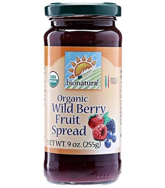 [Bionaturae] Fruit Spreads Wild Berry  At least 95% Organic