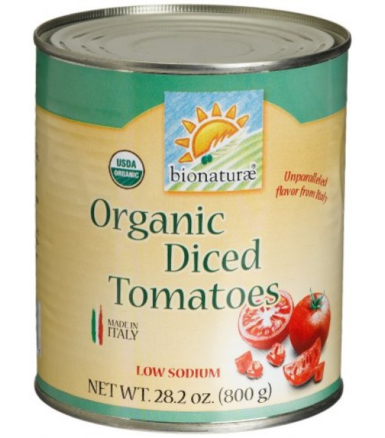[Bionaturae] Tomato Products Diced Tomatoes  At least 95% Organic