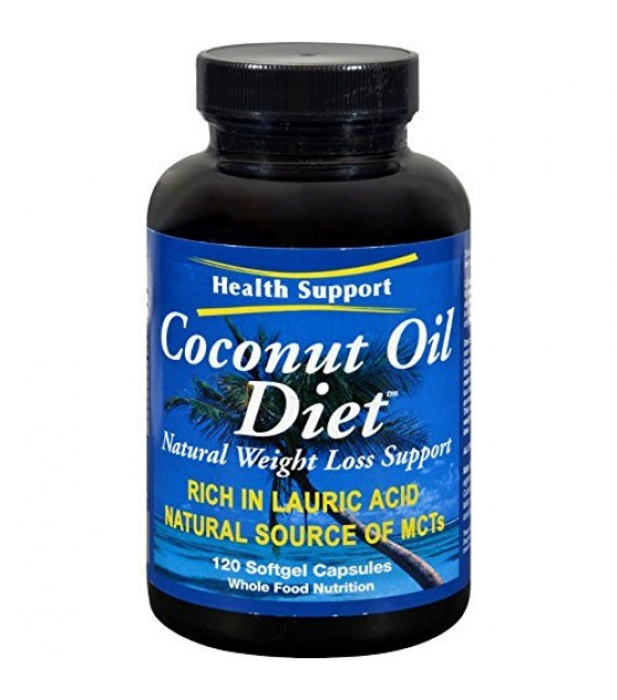 [health Support] Hlth Sup. Coconut Oil